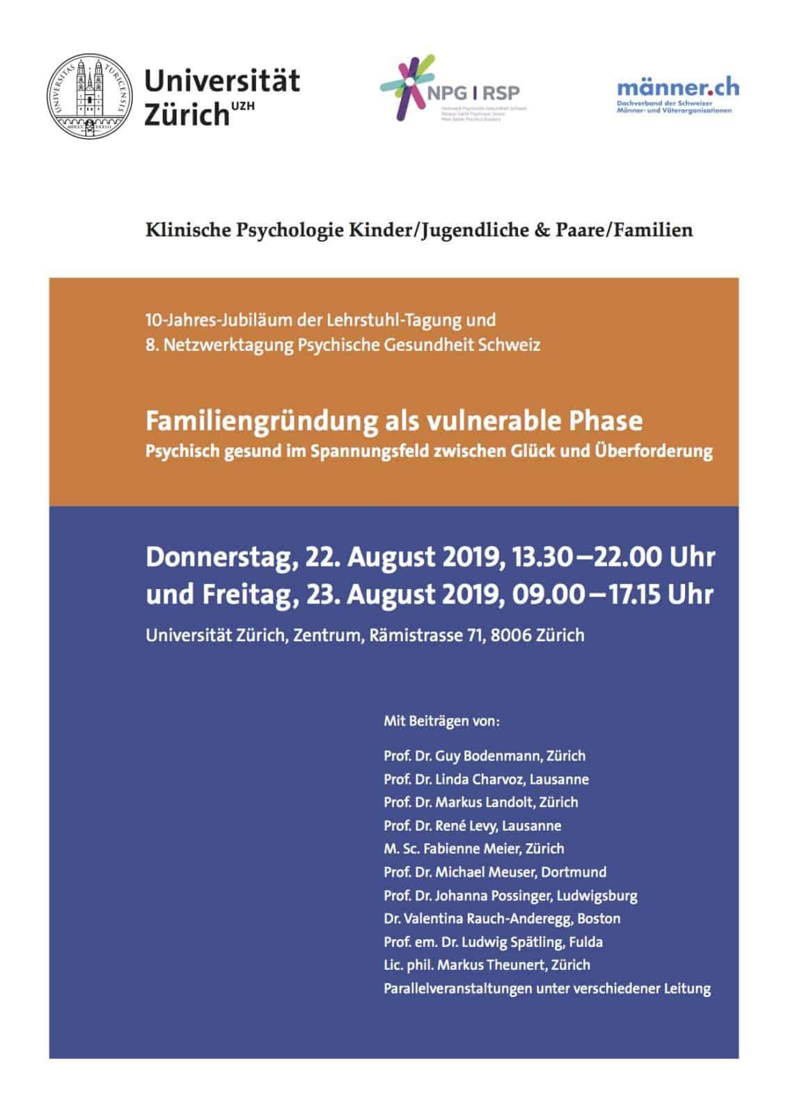 Fachtagung «Familiengründung als vulnerable Phase»