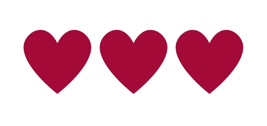 Herz dreifach
